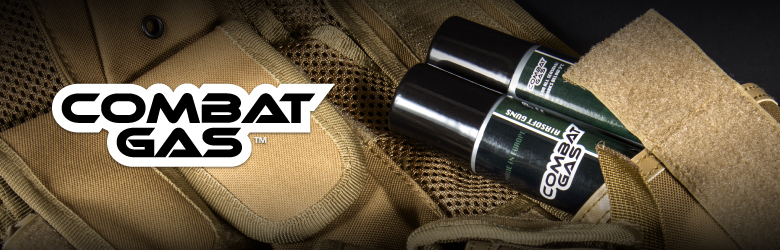 the combat airsoft gas bottle inside a tactical vest
