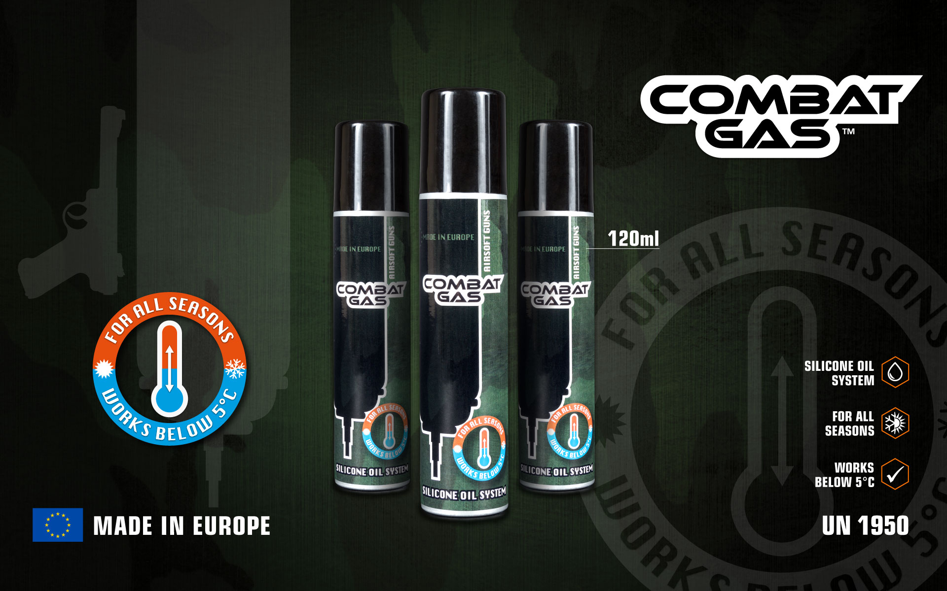 Evolution  Combat Gas