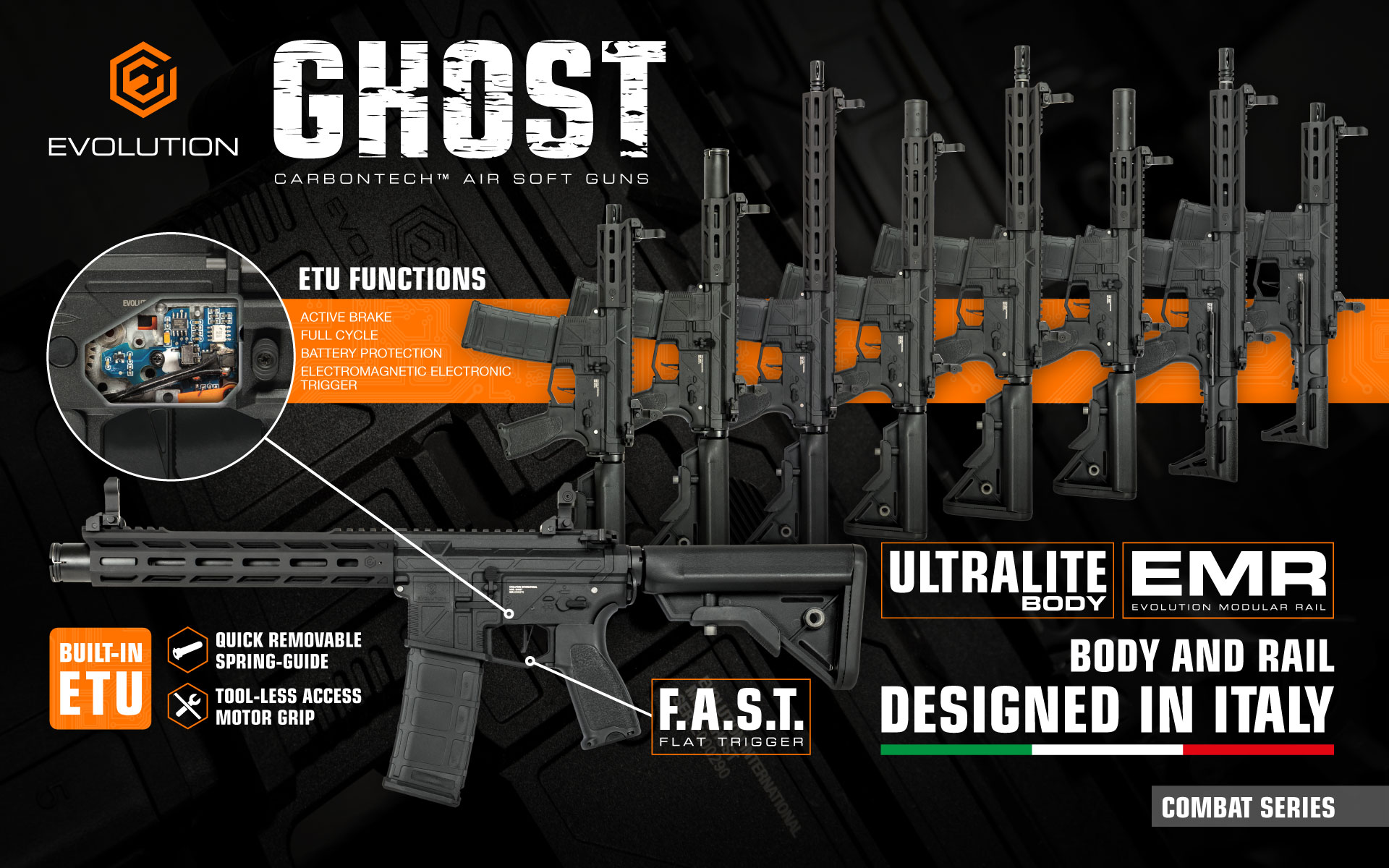 Evolution Ghost air soft in action