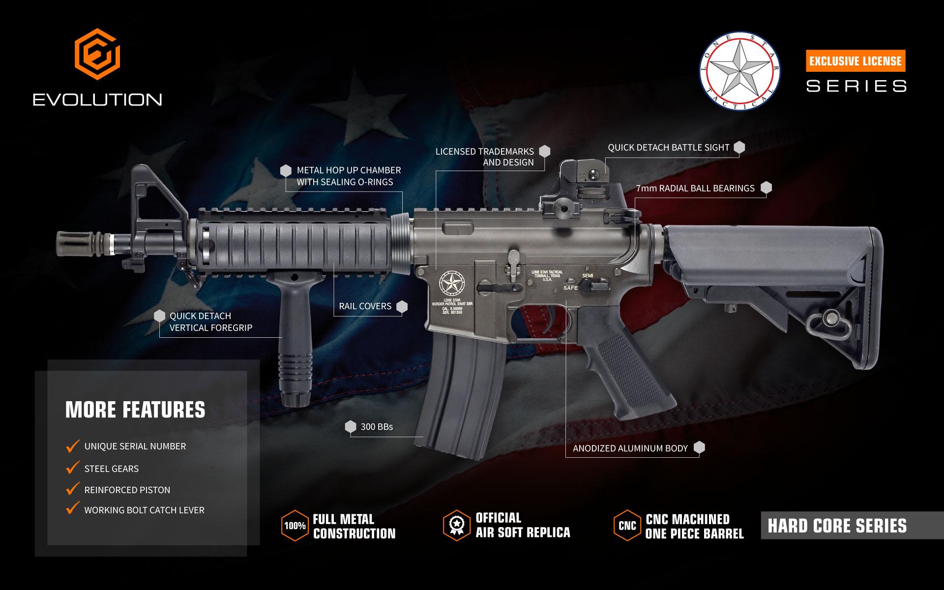 Evolution Lone Star air soft guns