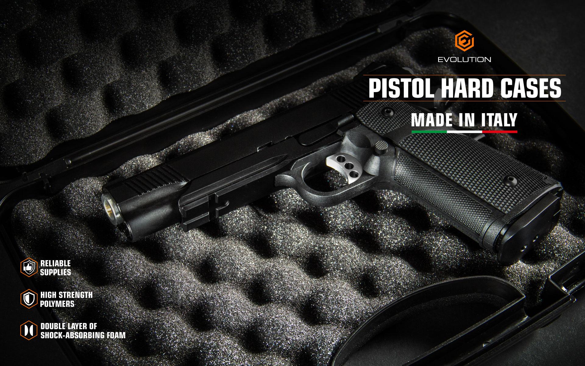 Evolution Pistol Hard Cases