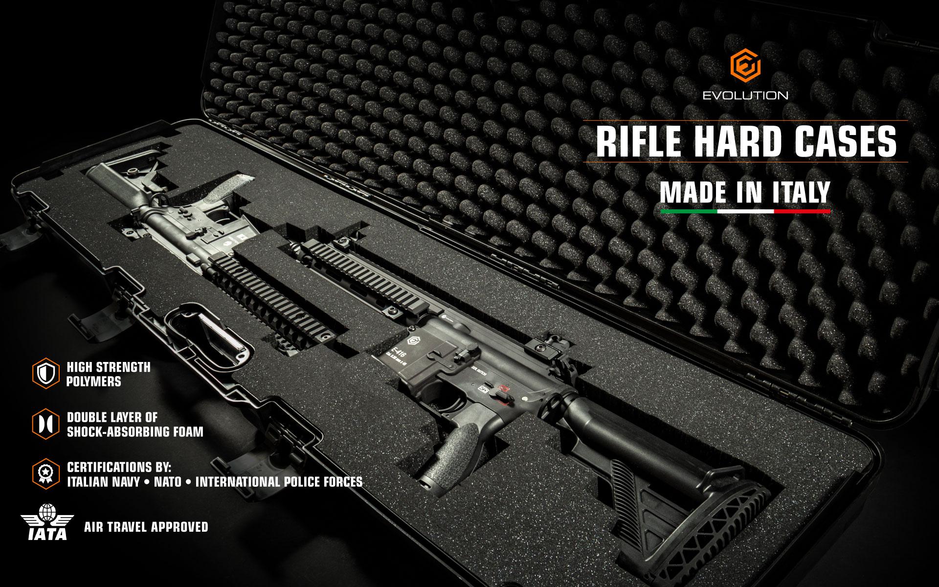 Evolution Rifle Hard Cases