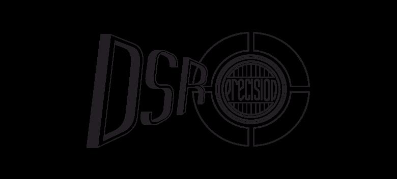 the dsr precision logo