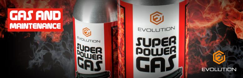 Evolution gas and maintenance