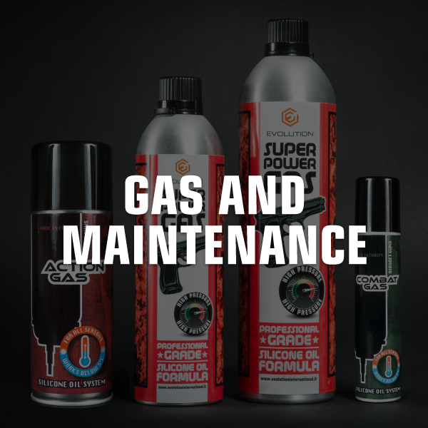 Gas and maintenance