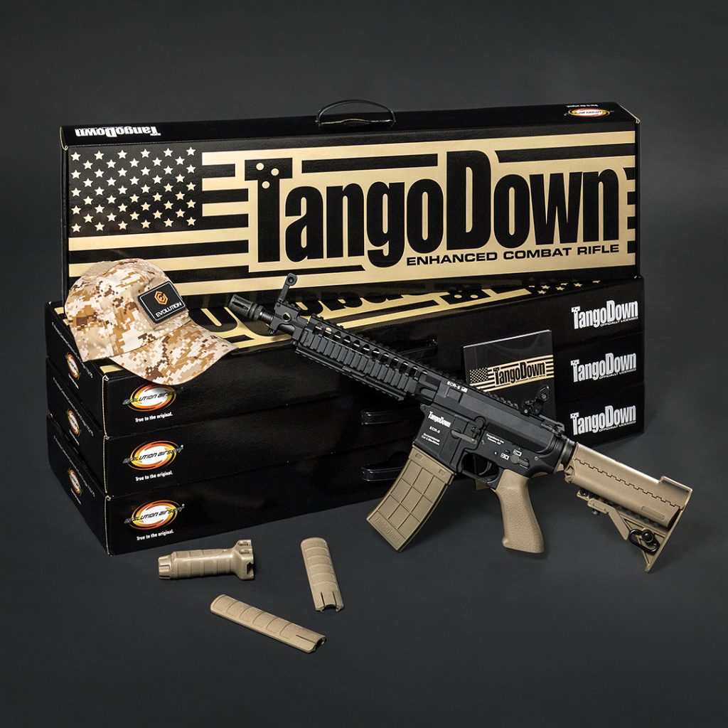 TANGO DOWN: the best performing airsoft gun - Evolution