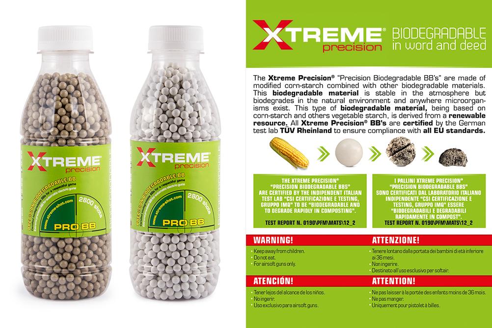 Evolution Xtreme Precision Certified Biodegradation