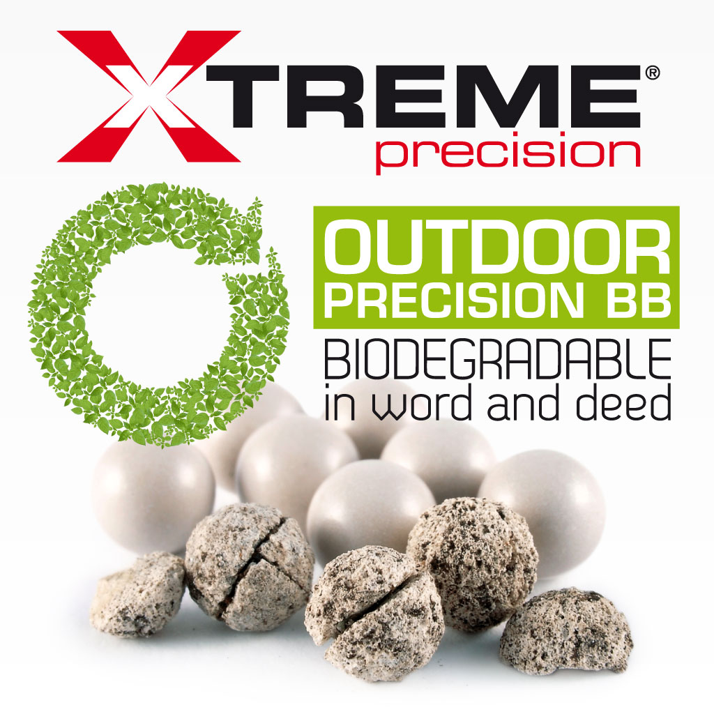 Evolution Xtreme Precision Biodegradable in word and deed